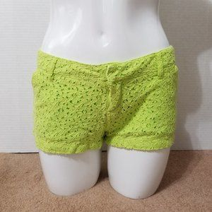 Volcom shorts 3 Lace It Up floral bright neon